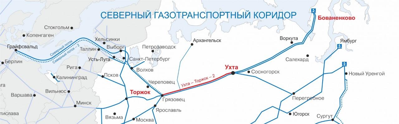 Байдарацкая газопроводы