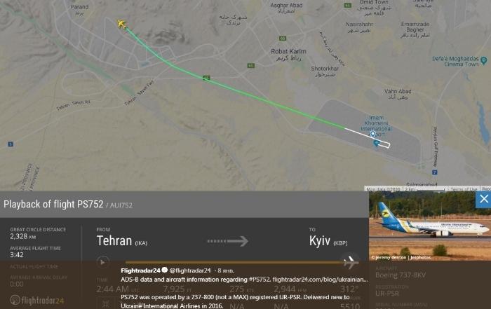 Украинский Боинг и враньё Ирана