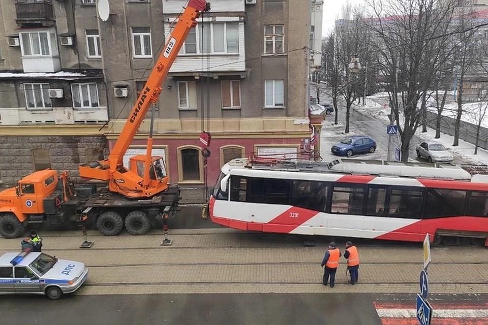 Из жизни донецкого трамвая