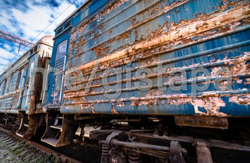 Покраска вагонов. Будни дурдома